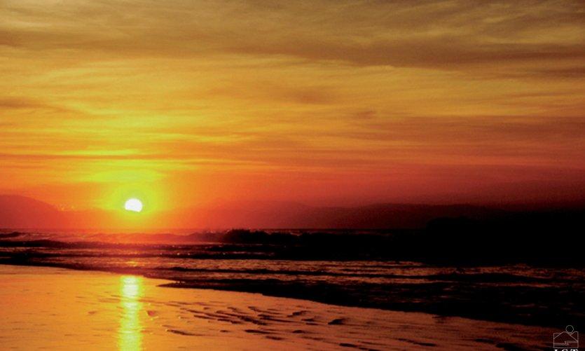 Coucher de soleil à Montezuma