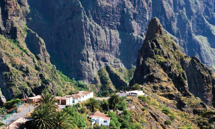 Masca est un splendide village du massif du Teno.