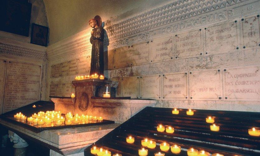 Intérieur de Notre-Dame-de-la-Garde