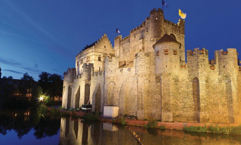 Castillo de los Condes de Flandres (Gravensteen).