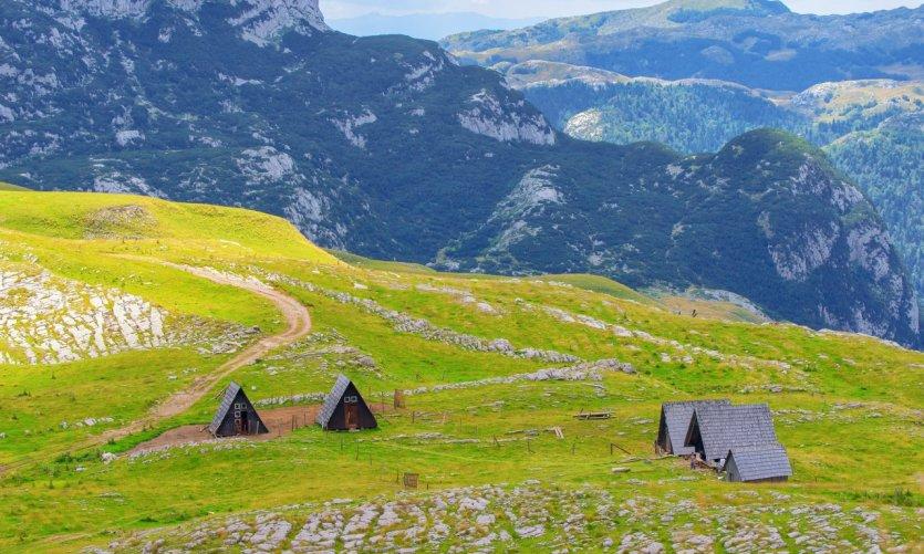 Paysage du Parc National du Durmitor.