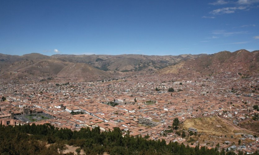 Panoramic view of the city.