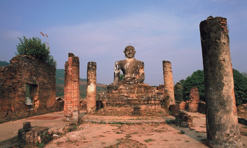 Grand Bouddha du Vat Phia Wat.