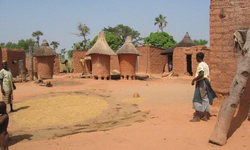 Village Senoufo près de Banfora