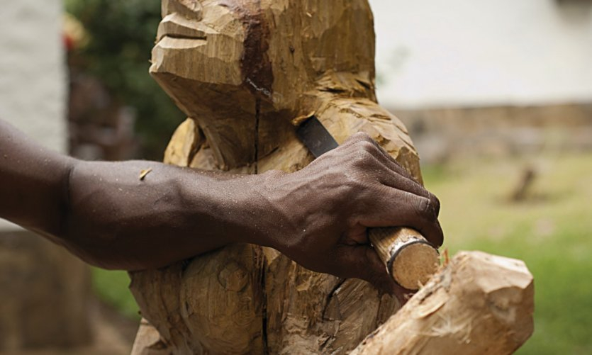 Artisanat africain.