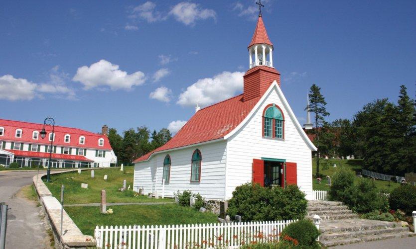 Petite chapelle de Tadoussac.