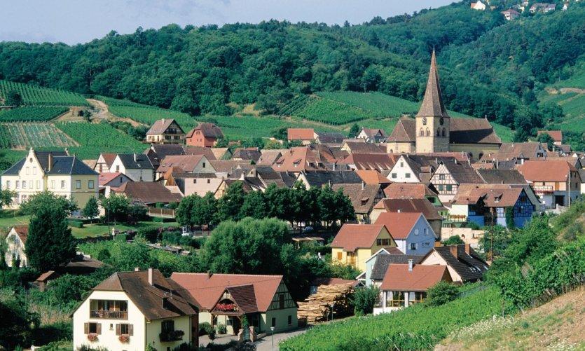 L'agréable village de Niedermorschwihr.