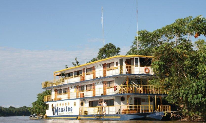 Manatee Amazon Explorer offers several steps on the Napo Napo.