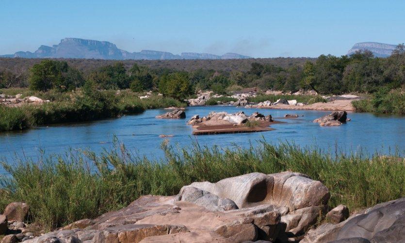 Le fleuve Limpopo.