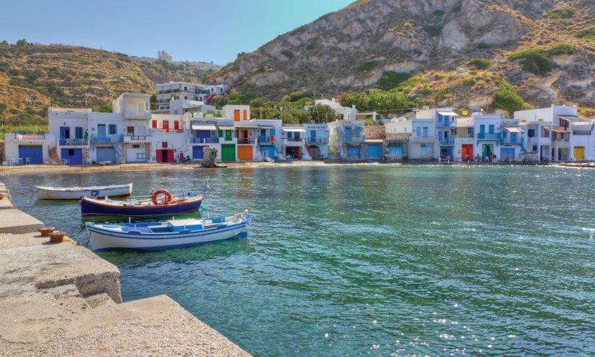Klima, sur l'île de Milos.
