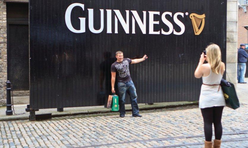 La brasserie Guinness, passage obligé des amateurs de bière!