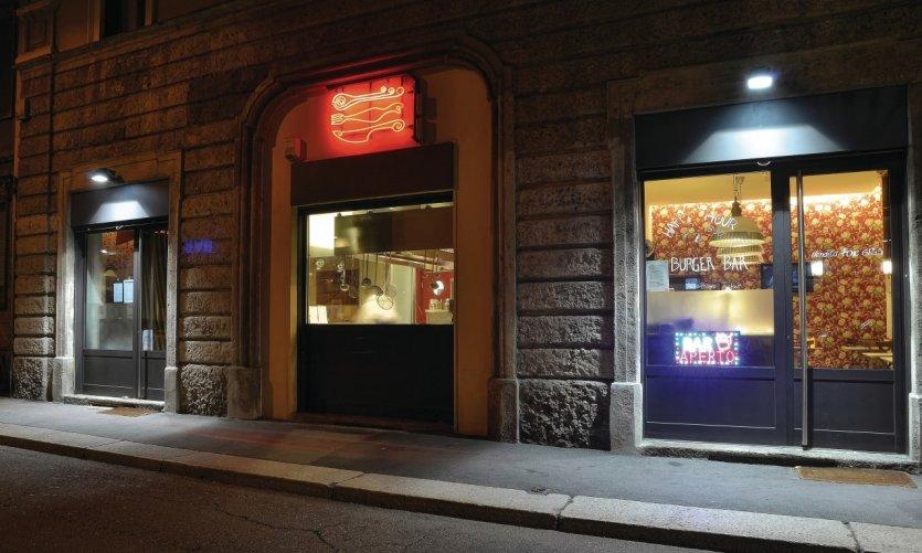 Le Burger Bar et le restaurant