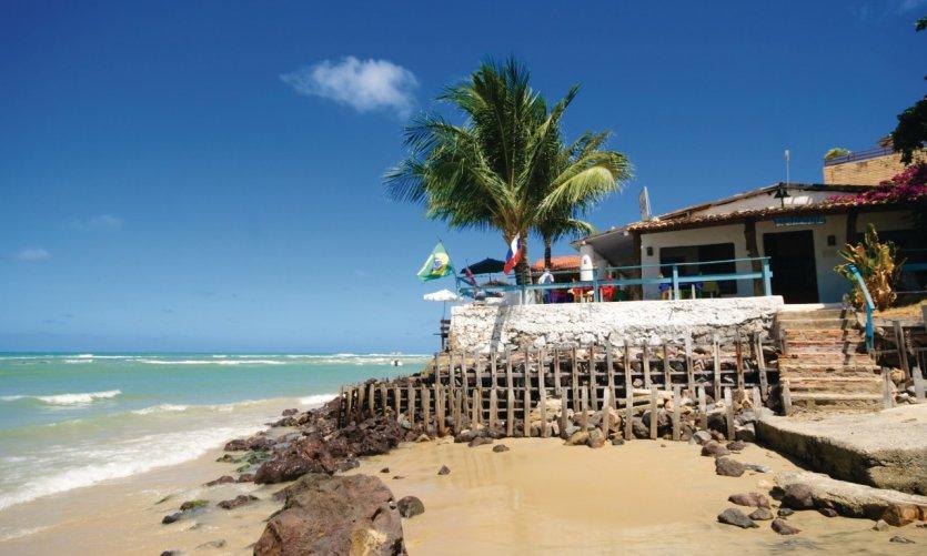 Restaurant de Praia da Pipa.