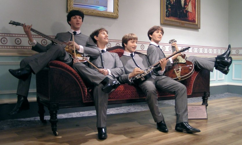 Madame Tussauds - Les Beatles.
