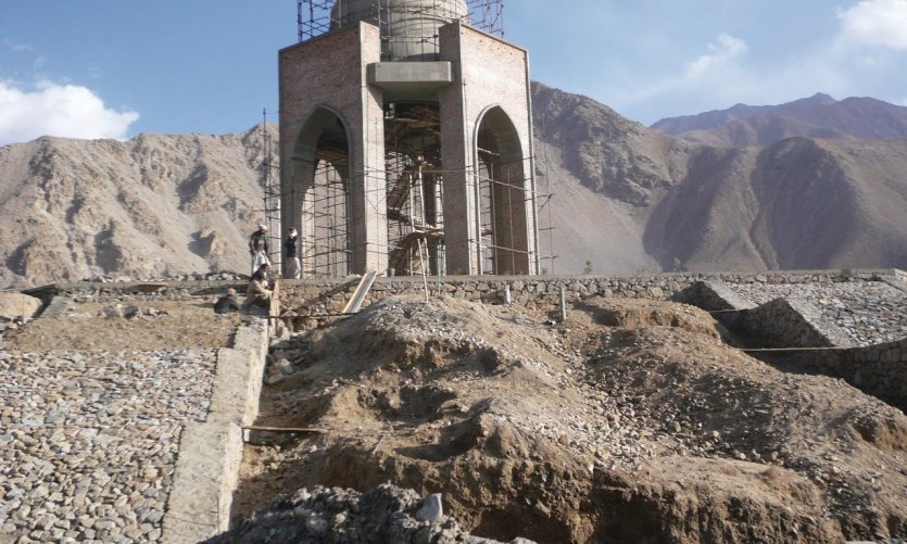 <p>Mausoleum of Ahmad Shah Massoud, leader of Afghan resistance against the Soviets.</p>