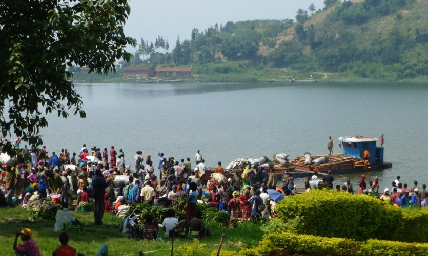 <p>Fish market in Gisenyi.</p>