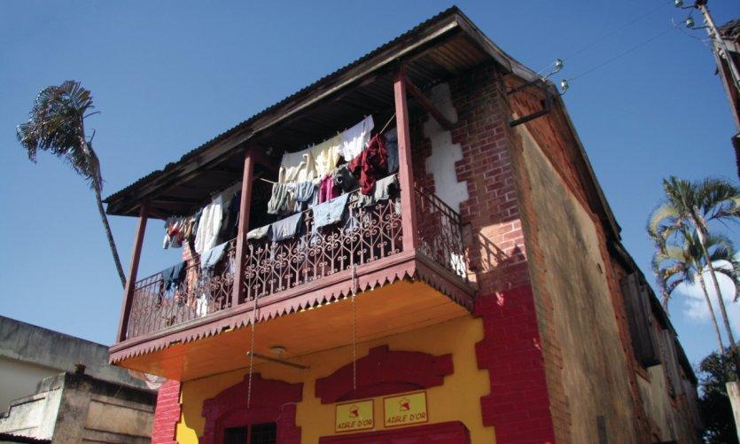 Maison colorée, Moramanga