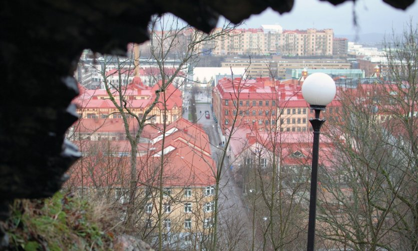 <p>View of the city from the Skansen Kronan.</p>