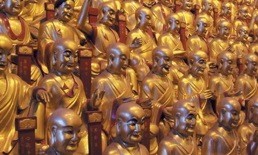 <p>Buddhist monastery of Longhua.</p>