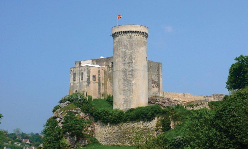Château Guillaume-le-Conquérant, Falaise.