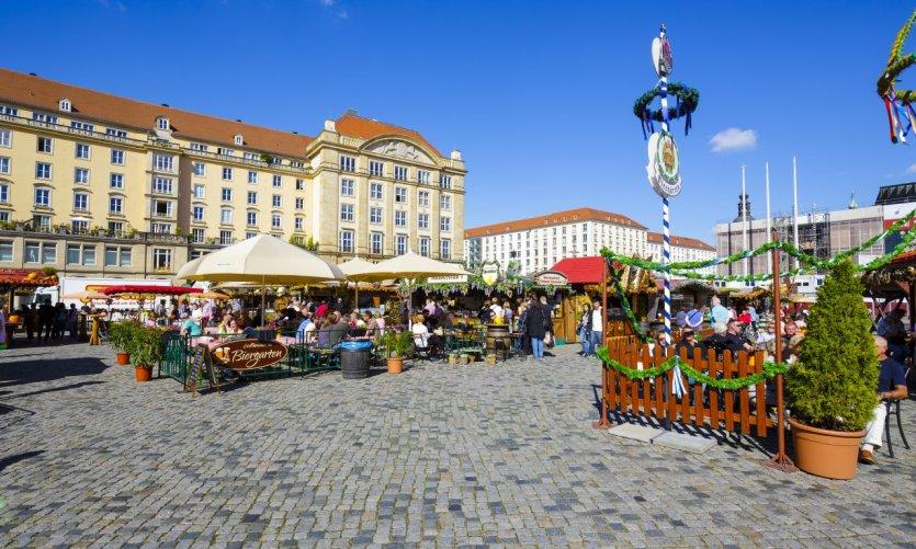Altmarkt, Dresde.