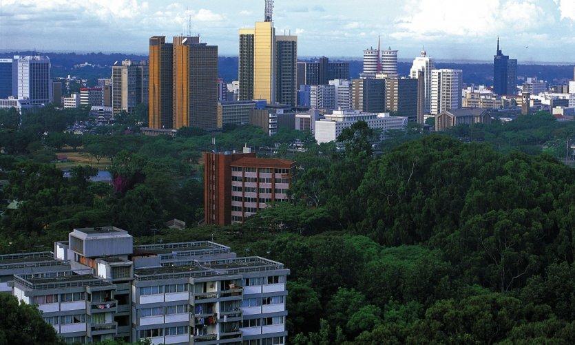 Nairobi, vue générale