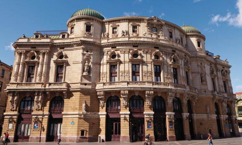 Le théâtre Arriaga.