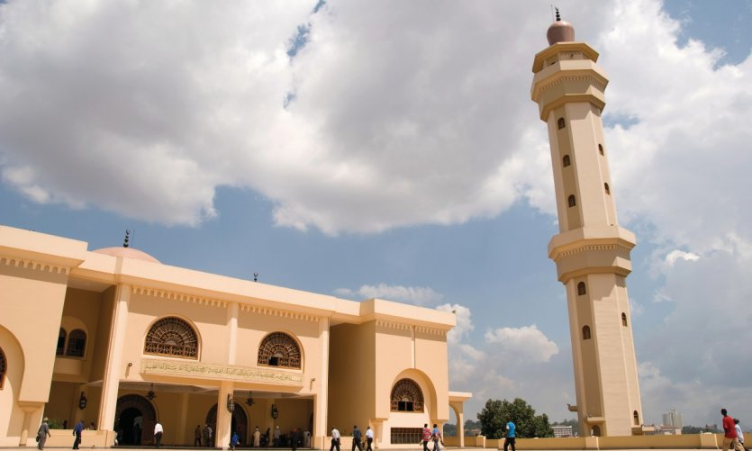 Mosquée de Kampala.