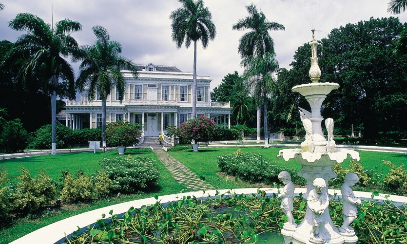 Devon House, a colonial residence to visit absolutely.