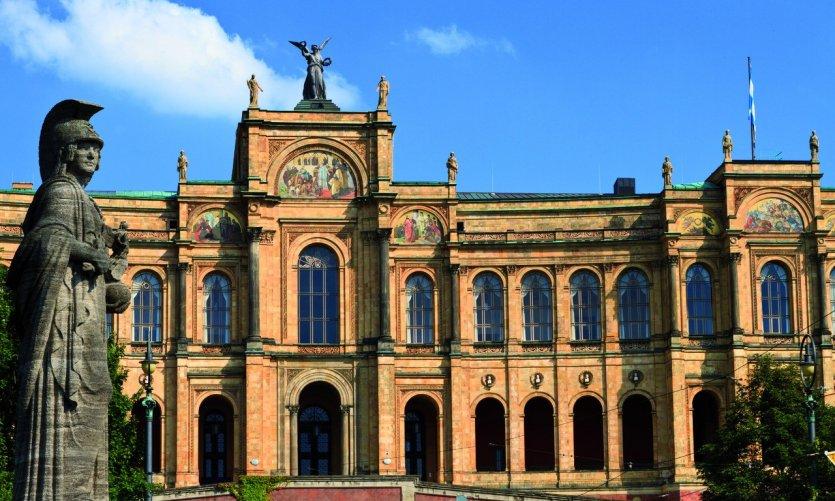 Maximilianeum, le siège du gouvernement d'État de Bavière.