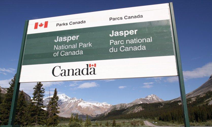 Parque nacional de jaspear.