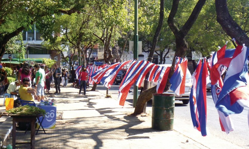 Plaza de la Liberdad, Asunción.
