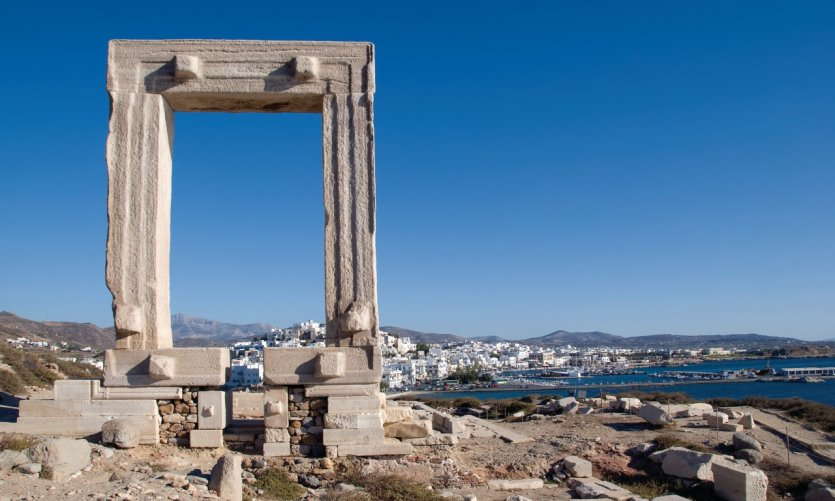 Temple d'Apollon, Naxos.