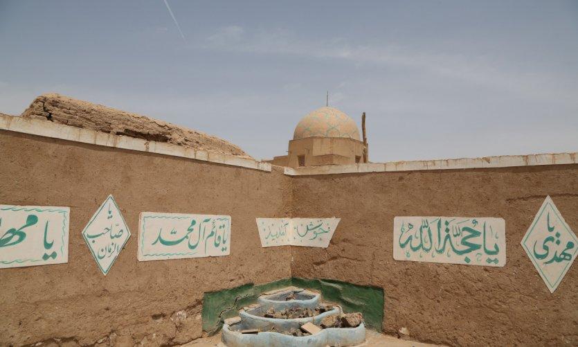 <p>Dans la vieille ville de Yazd.</p>