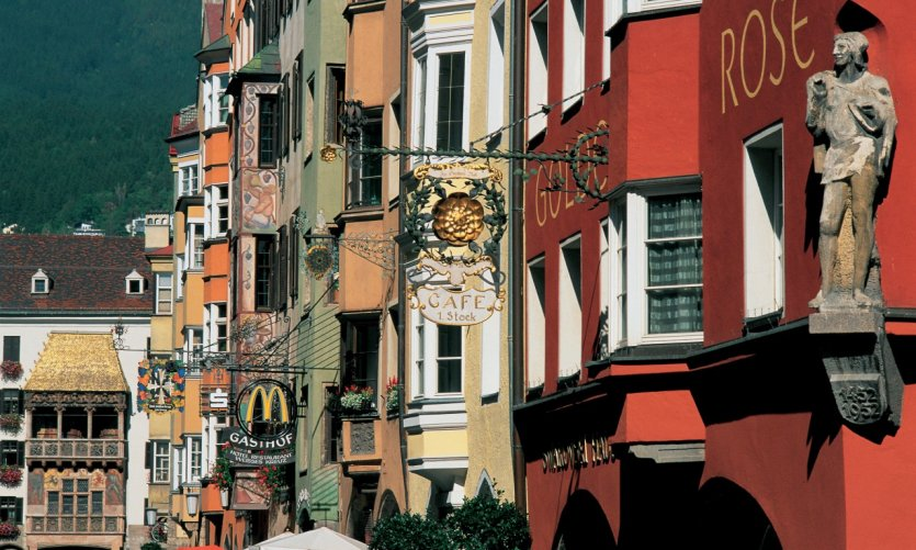 <p>On the streets of Innsbruck.</p>