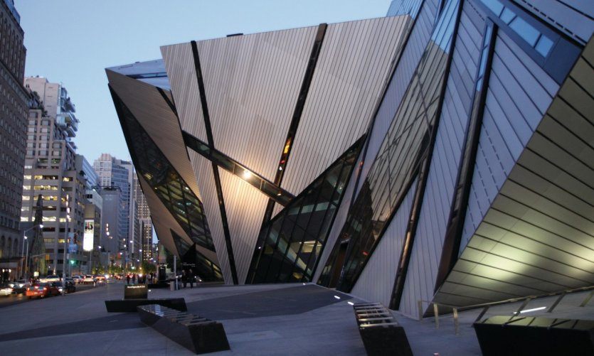 Le ROM, Royal Ontario Museum.