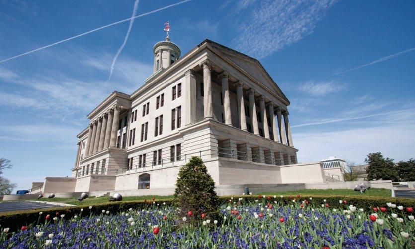 Capitol de Tennesse en Nashville.