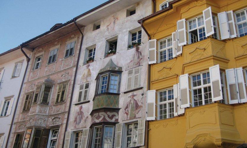 Maisons du centre de Bolzano.