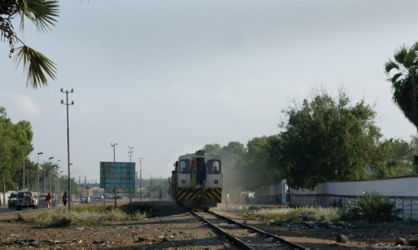 Le train Djibouti - Addis-Abeba.