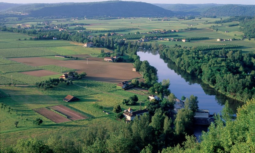La vallée du Lot