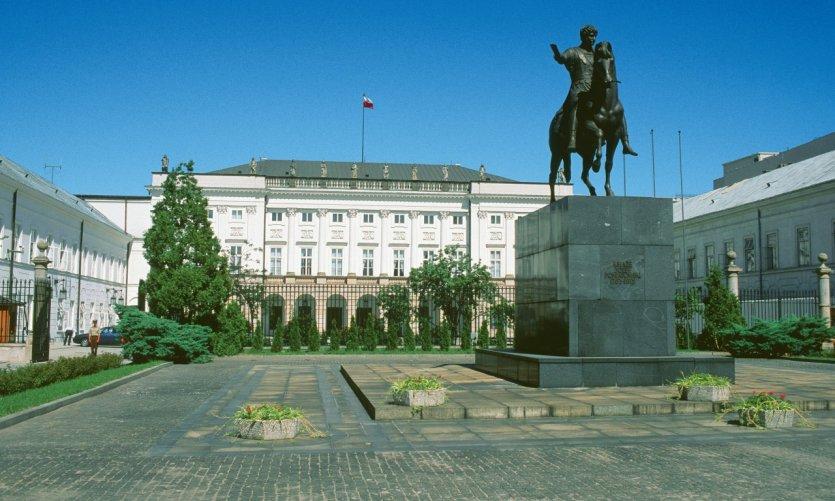 Monumento de Prince Joseph Poniatowski.
