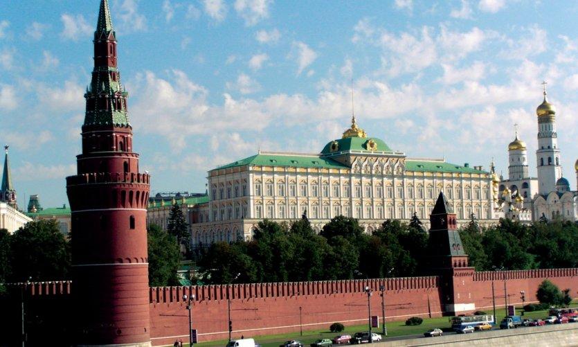Vue générale du Kremlin.