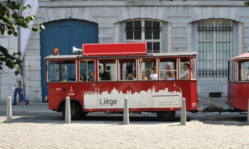 Le petit train touristique.