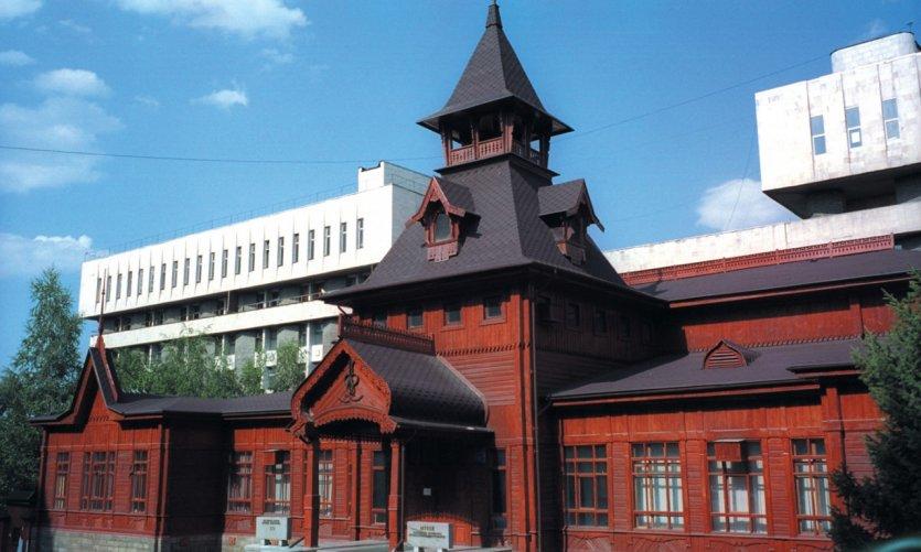 <p>Museo de instrumentos de música kazakos.</p>
