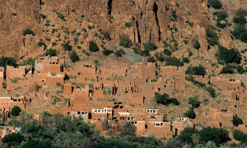 Village d'Aday.
