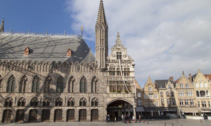 <p>La ville d'Ypres.</p>