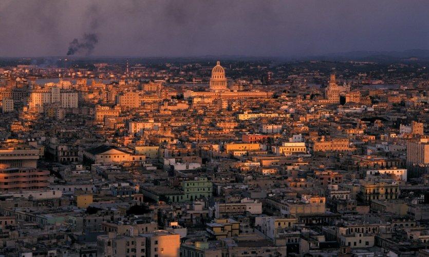 Panorama de la ville de La Havane.