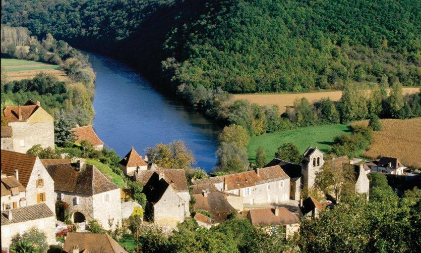 Castelnaud-la-Chapelle, village du Périgord Noir