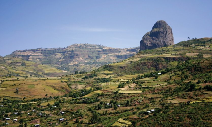 Près de Gondar.