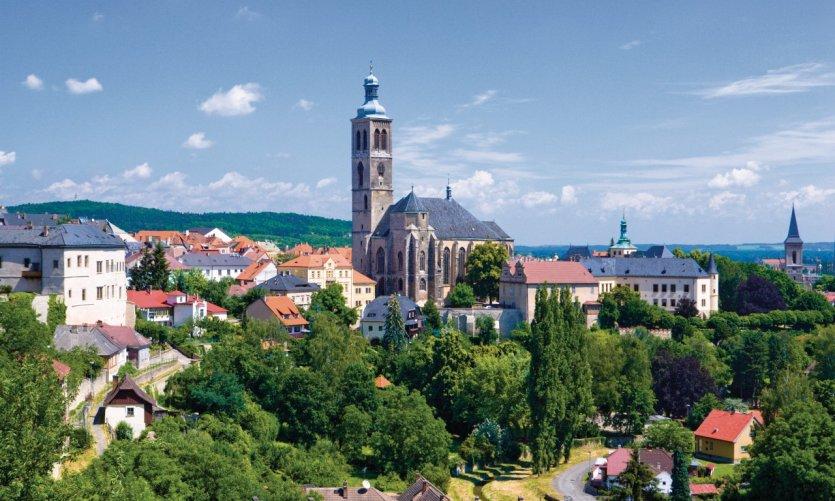 Vieille ville de Kutná Hora.